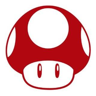 SUPER MARIO BROS. STAR UP   5 WHITE   Vinyl Decal Vinyl Sticker   Car