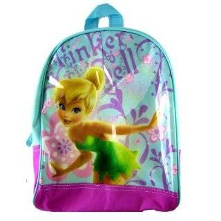 Bell Backpack   Fairies Large Blue School Backpack Toys & Games
