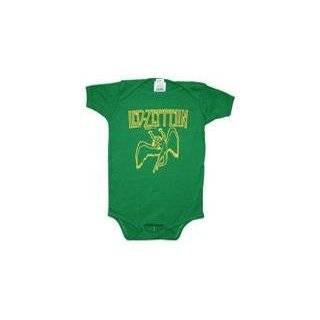 Led Zeppelin   Swan Song Infant Bodysuit Clothing