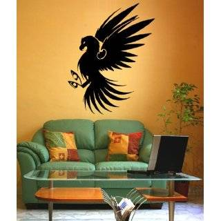 Vinyl Wall Art Decal Sticker Eagle Claw Decoration 21x26