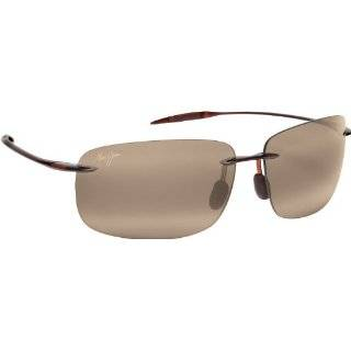 Maui Jim Breakwall 422 Sunglasses Color Brown / Bronze Lens Size