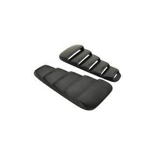 Mustang Painted Quarter Window Louvers Black Paint Code UA Automotive