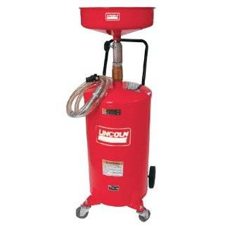 20 Gallon Portable Oil Change Lift Drain Tank