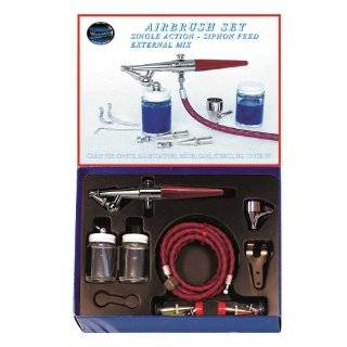 Paasche H SET Single Action Siphon Feed Airbrush Set Arts