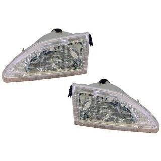 Ford Mustang Headlights With Out Cobra Model Headlamps