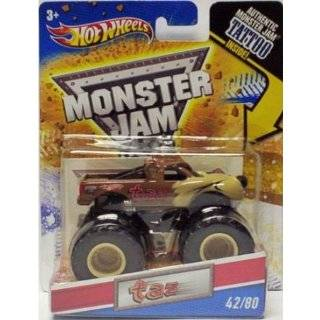 2011 Hot Wheels Monster Jam #42/80 TAZ 164 Scale Collectible Truck