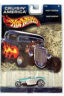 Hot Wheels Deuce Roadster Diecast Car