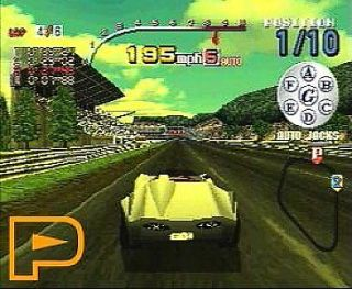Speed Racer Sony PlayStation 1, 1998