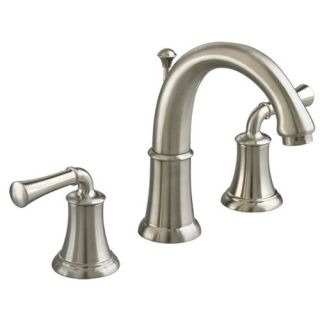 American Standard 7420 801 Satin Nickel Double Handle Widespread Bathroom Faucet