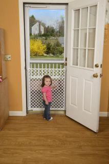Safety 1st Screen Door Gate Saver White Baby Child Pet Safety
