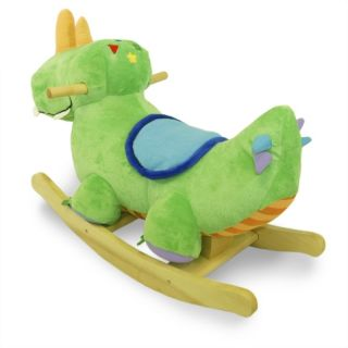 Rockabye Danny Dinosaur Rocker Baby Rocking Horse Kids' Animal Ride on Toy New