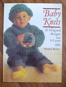 Baby Knits by Debbie Bliss, Good Housekeeping Institute Paperback, 1988