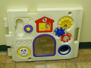 Todays Kids 6 Panel Play Yard Area Pen Red White Yellow Green Blue Purple