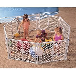 New North States Superyard XT Baby Gate Play Yard Extension Pen Crib Playpen