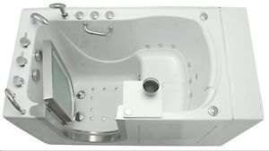 Ella Elite Massage Walk in Bathtub Tub Jacuzzi Hydro and Air Massage Free SHIP