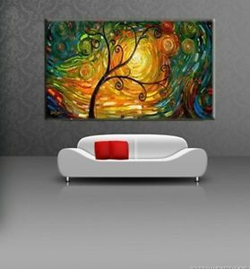 Large Modern Abstract Art Handmade Oil Painting Set Wall Decor on Canvas HB10