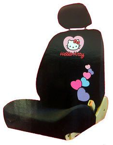 New Hello Kitty Black and Red Car Seat Cover Car Accessories