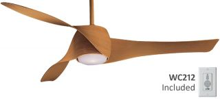 Minka Aire F803 MP Artemis Maple Modern Ceiling Fan Design by George Kovacs
