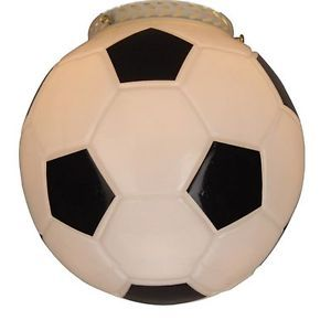Soccer Ball Replacement Ceiling Fan Light Glass Globe Shade