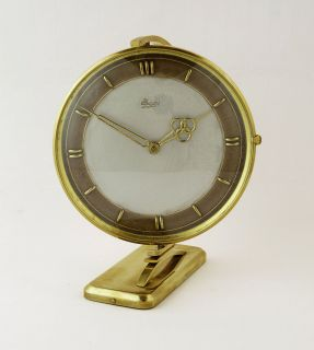 Beautiful German Art Deco Rotary Urgos Desk Clock Table Clock at 1930 1935