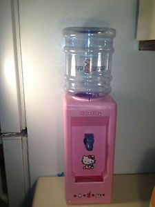 Hello Kitty Mini Water Cooler Dispenser Holds 8 Cups