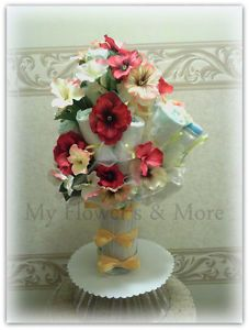 Diapering Diaper Bouquet Diaper Cake Baby Shower Gift