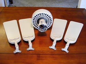 Small Hunter Original Ceiling Fan Motor and Blades