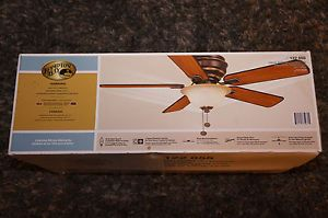 "Hampton Bay 44"" Ceiling Fan 5 Reversable Blades"