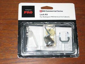 Realspace Pro 91000 Commercial Series Lock Kit for Vertical File Cabinets 212950