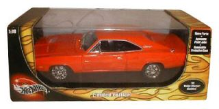 Hot Wheels 1969 Dodge Charger 1 18 Diecast Car
