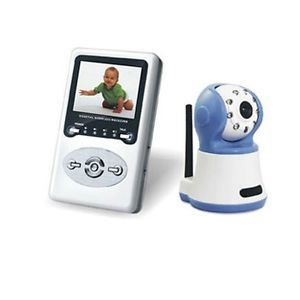 Wireless Digital Color Baby Monitor Camera 2 Way Talk