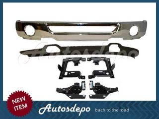 06 08 Ford F150 Front Bumper Chrome Lower Valance