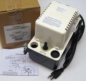 CP1A HVAC Condensate Pump with Alarm 20' Lift Air Conditioning Heating Furnace