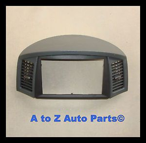 New 2006 Jeep Grand Cherokee Slate Gray Nav Navigation Bezel OEM Mopar