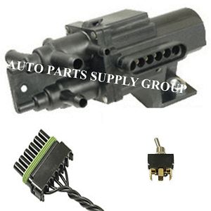 128 190 Port Fuel Dual Tank 6 Port Selector Kit Valve Harness Switch