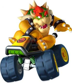 Choose Size Bowser Super Mario Kart Decal Removable Wall Sticker Home Decor