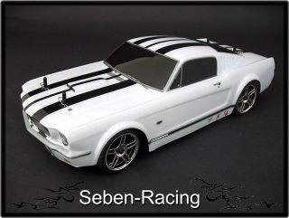 LXR XK37 Ford Mustang Shelby Nitro RC Car 4WD RTR 1 10