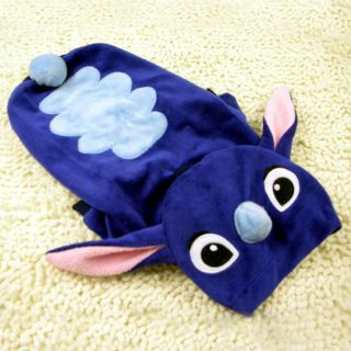 Dog Puppy Clothes Adorable Stitch Costumes Soft Coat Hoodie Blue 5 Sizes New