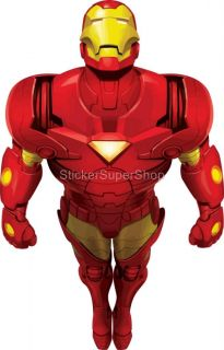 Choose Size Iron Man Decal Removable Wall Sticker Art Decor Mural