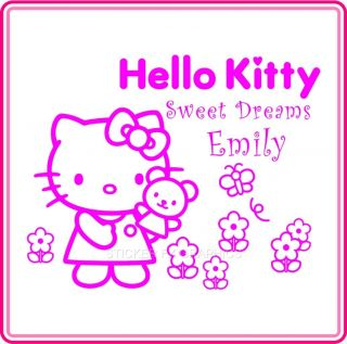 Wall Art Hello Kitty Kids Bedroom Vinyl Stickers