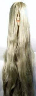 Cousin It Costume Wig Deluxe Plenty of Hair 5 ft Long