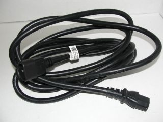 Dell G848N 300volt 15A 14AWG 10ft Extension Power Cord New