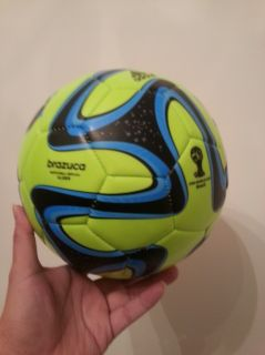 Brazil Brazuca 2014 World Cup FIFA Match Ball Replica Slime Glider Ball Size 5