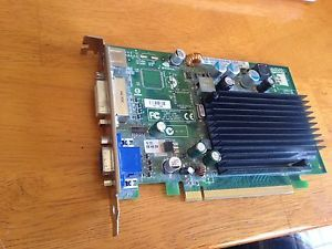 Genuine Dell NVIDIA GeForce 7300LE PCI E x16 DVI 128MB Video Card CH484 DK315