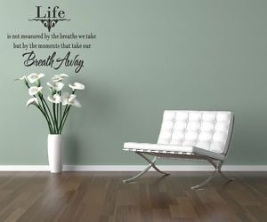 Live Laugh Love Art Words Motto Poem Vinyl Wall Sticker Home Decor Decal Mural