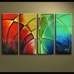 Modern Abstract Huge Canvas Art Oil Painting