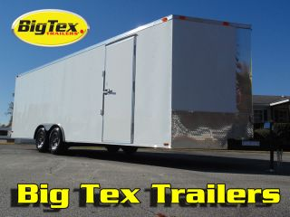 New 8 5 Wide Enclosed Car Hauler Trailer 16ft to 32ft Better Quality