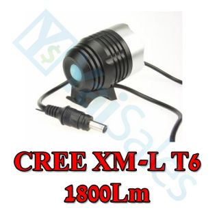 CREE XML XM L T6 1800 Lumen LED Bicycle Light Bike Cycle Lamp Headlight Headlamp