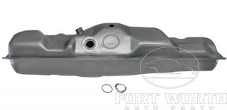 Ford F150 F250 F350 Pickup Truck Long Wheel Base Silver Gas Fuel Tank 19 Gallon