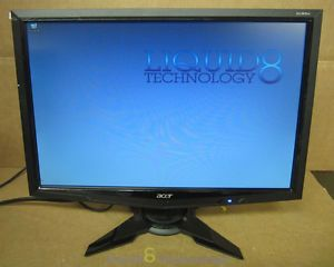"Acer G195W 19"" Black Widescreen LCD Monitor Grade A"